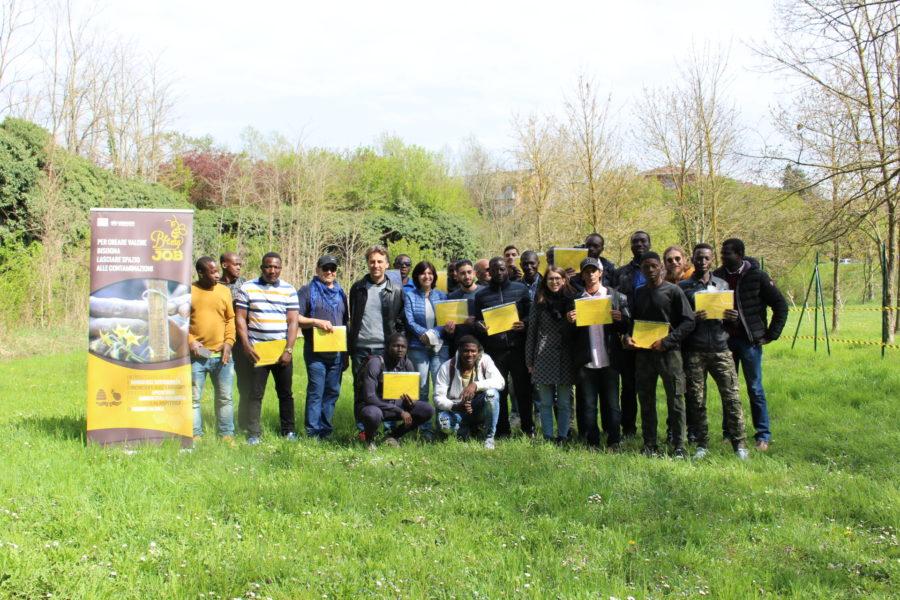 A Bee My Job il patrocinio dell'UNHCR – Alto Commissariato delle Nazioni Unite per i Rifugiati