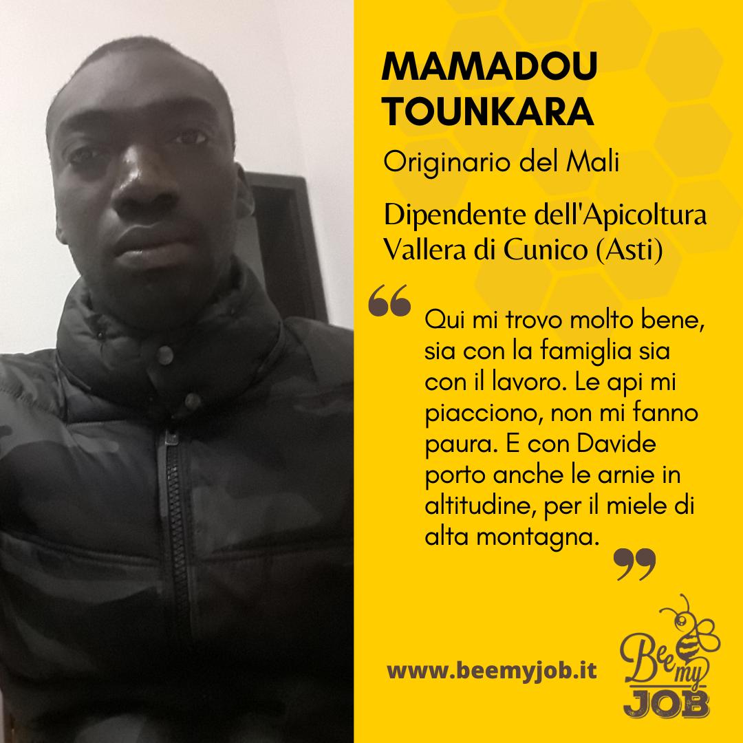 Le storie di Bee My Job: Mamadou apicoltore anche in alta montagna con Vallera